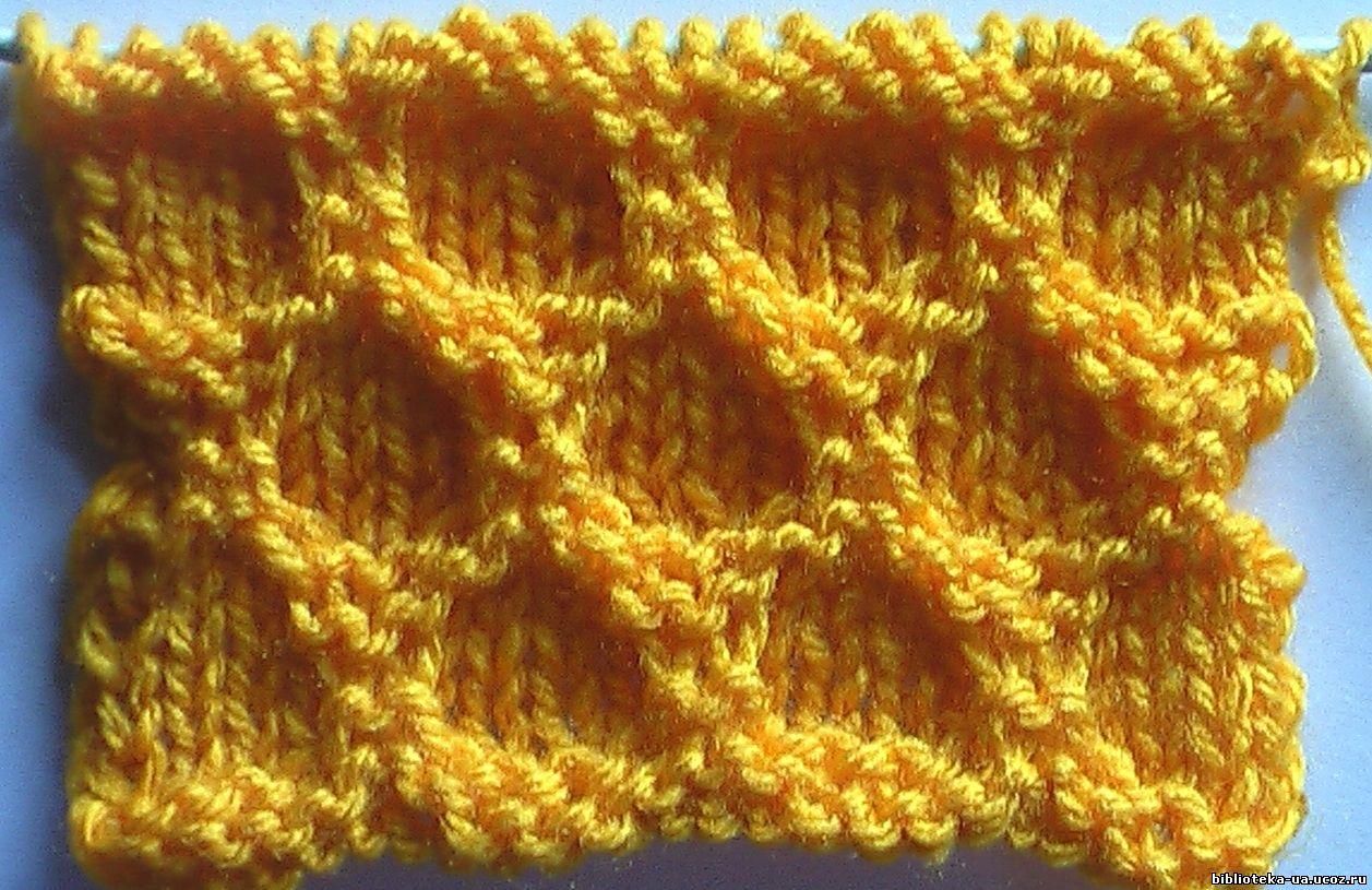 Вязание спицами простые узоры для шапок 137