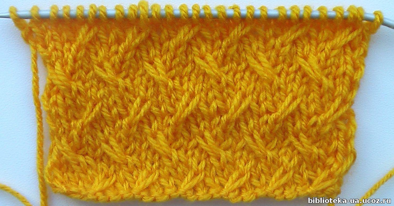 Вязание женского пуловера спицами 63